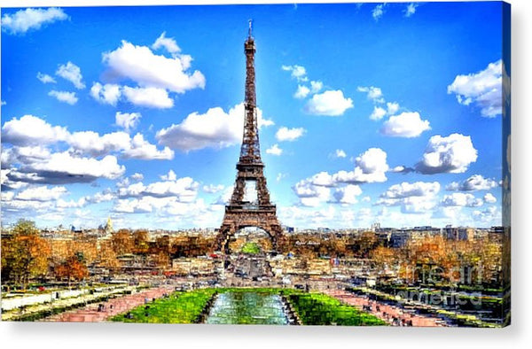 Acrylic Print - Paris Eiffel Tower