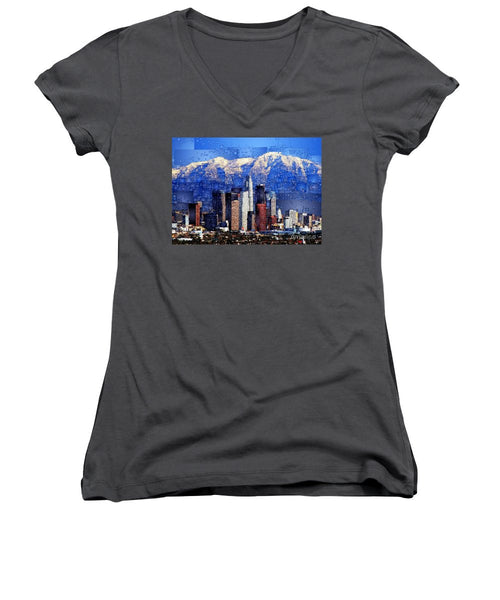 Women's V-Neck T-Shirt (Junior Cut) - Phoenix, Arizona