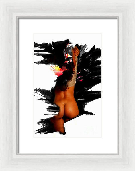 Framed Print - Please, Pull Me Up