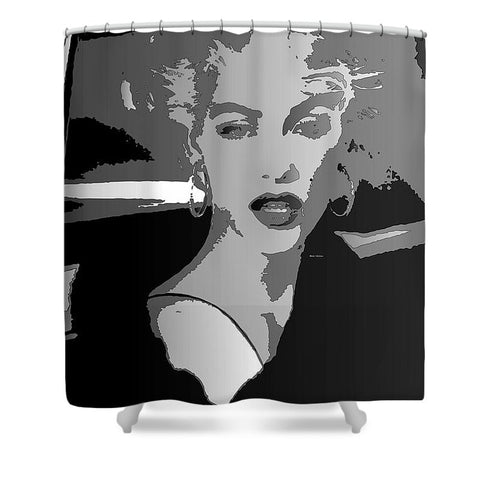 Shower Curtain - Pop Art Marilyn