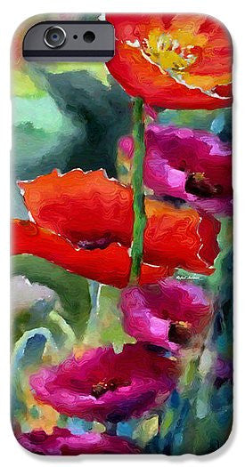 Phone Case - Poppies In Watercolor