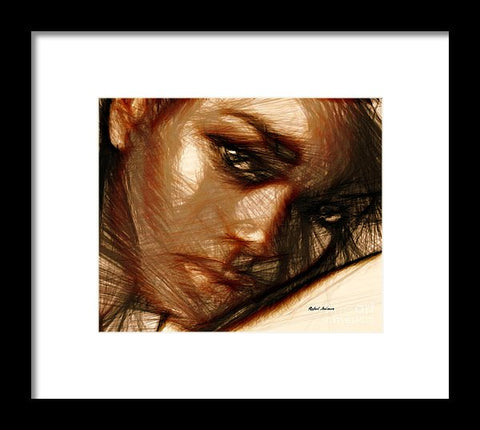 Portrait Of Innocence - Framed Print
