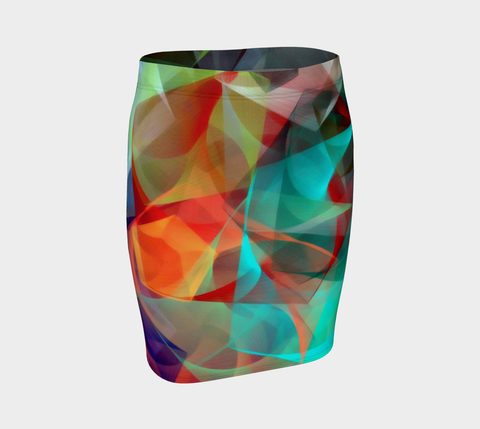 Abstract 3540 Fitted Skirt