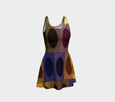 Coliseum in Chroma Flare Dress