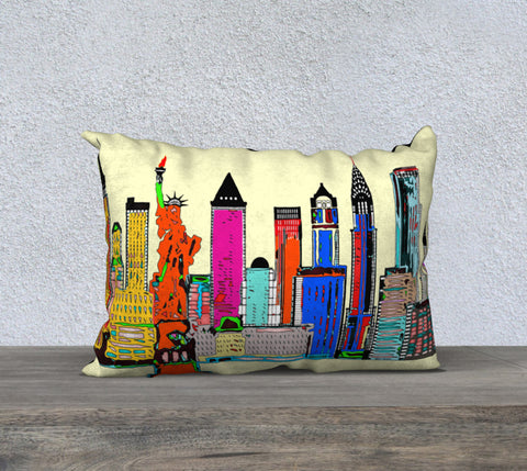 New York - The Big City Pillow Case 20
