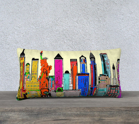 New York - The Big City Pillow Case 24