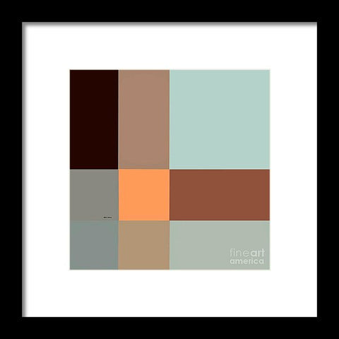 Projection And Perception - Framed Print