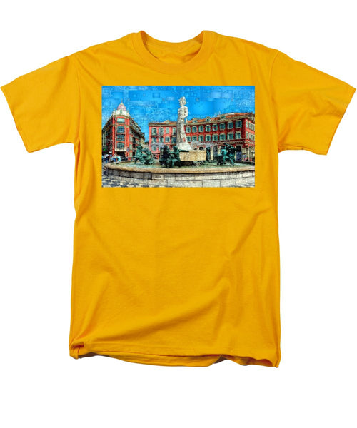 Men's T-Shirt  (Regular Fit) - Promenade Of The English, Nice France