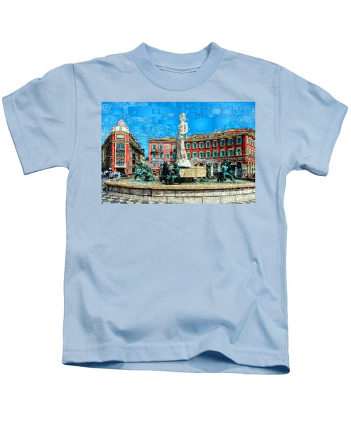 Kids T-Shirt - Promenade Of The English, Nice France