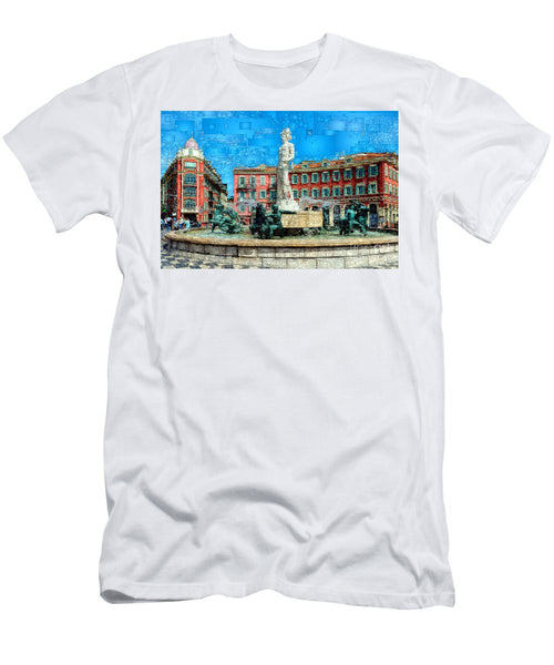 Men's T-Shirt (Slim Fit) - Promenade Of The English, Nice France