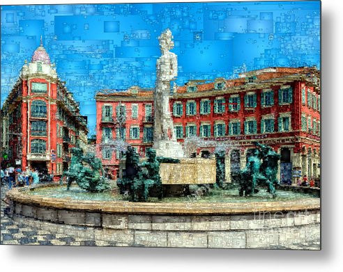 Metal Print - Promenade Of The English, Nice France