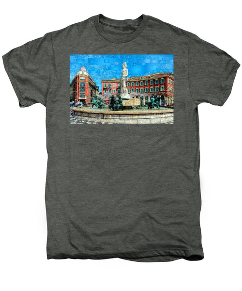 Men's Premium T-Shirt - Promenade Of The English, Nice France