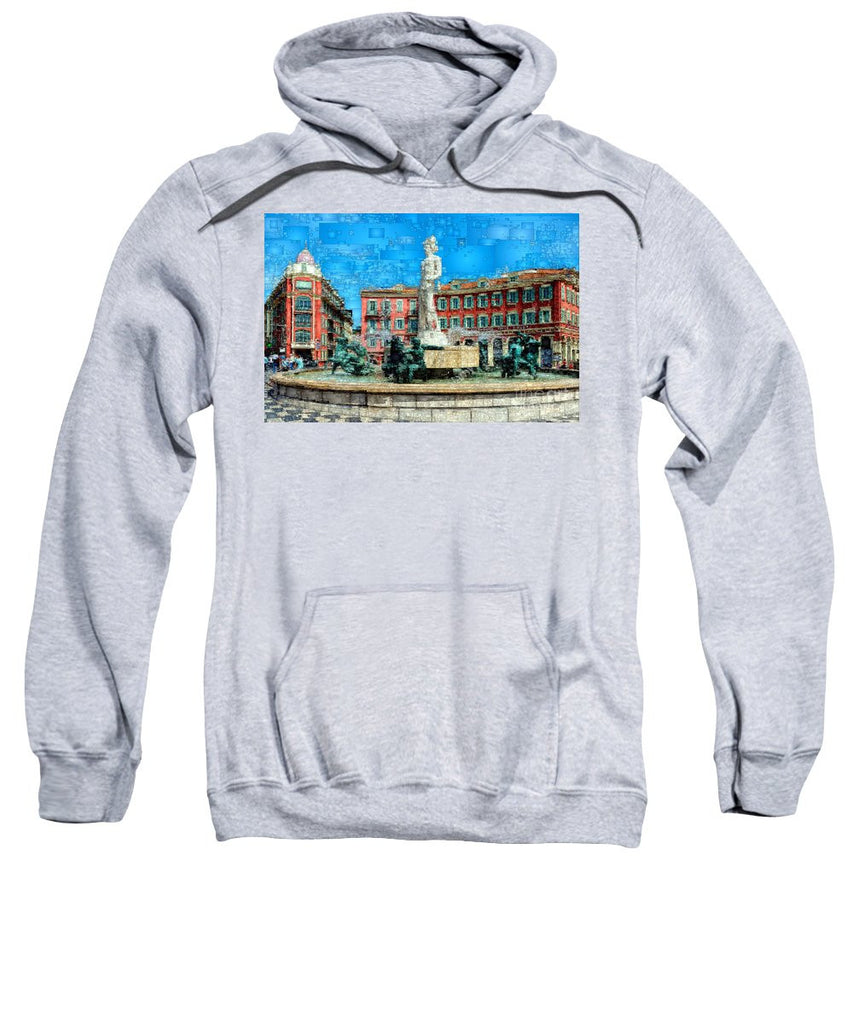 Sweatshirt - Promenade Of The English, Nice France