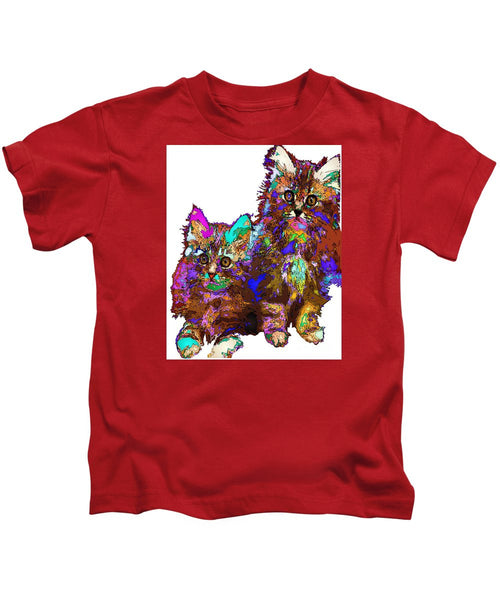 Kids T-Shirt - Pumpkin And Sophie. Pet Series