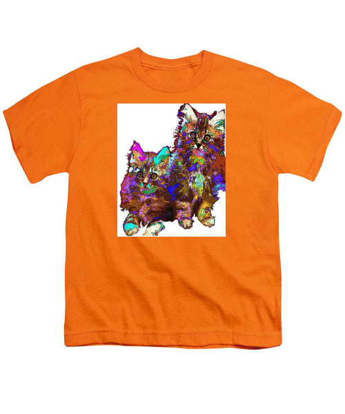 Youth T-Shirt - Pumpkin And Sophie. Pet Series