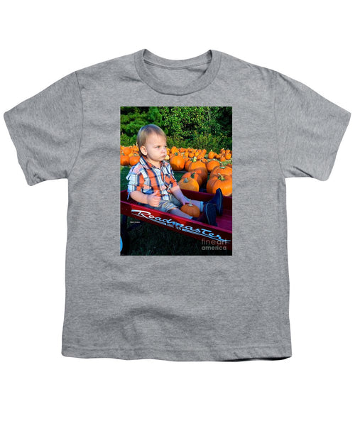 Youth T-Shirt - Pumpkin Patch Hay Ride