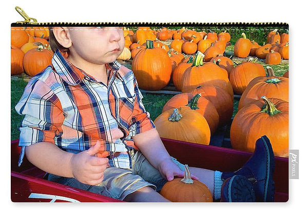 Carry-All Pouch - Pumpkin Patch Hay Ride