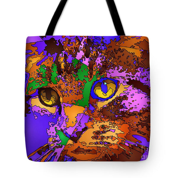 Tote Bag - Purple Love. Pet Series