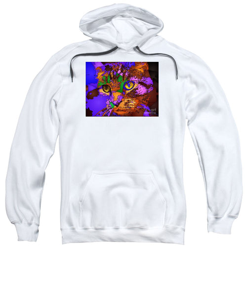 Sweatshirt - Purple Love. Pet Series