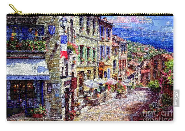 Carry-All Pouch - Quaint Streets From Nice France.