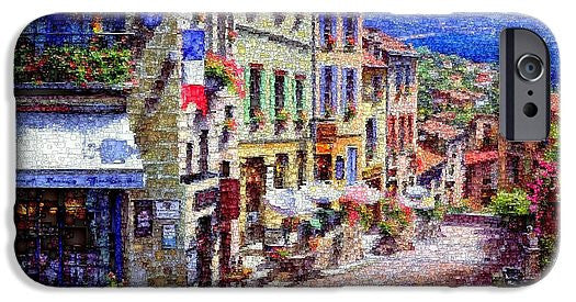Phone Case - Quaint Streets From Nice France.