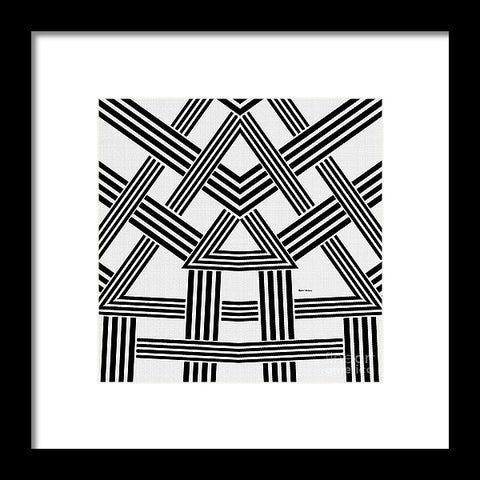 Rafters - Framed Print
