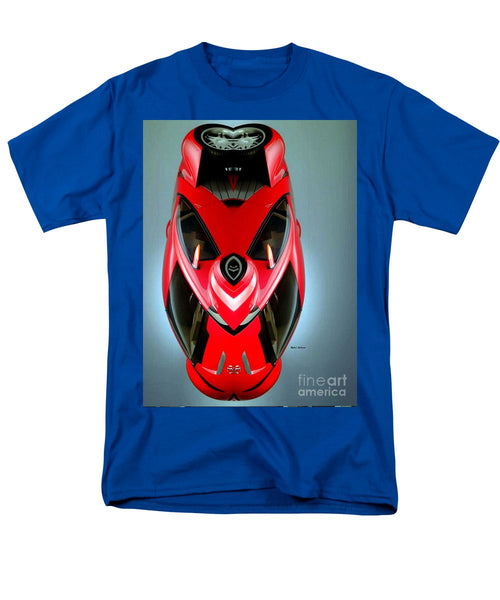 Men's T-Shirt  (Regular Fit) - Red Car 006