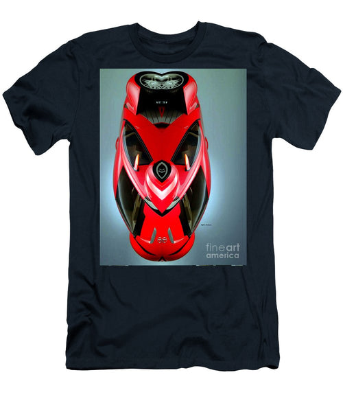 Men's T-Shirt (Slim Fit) - Red Car 006