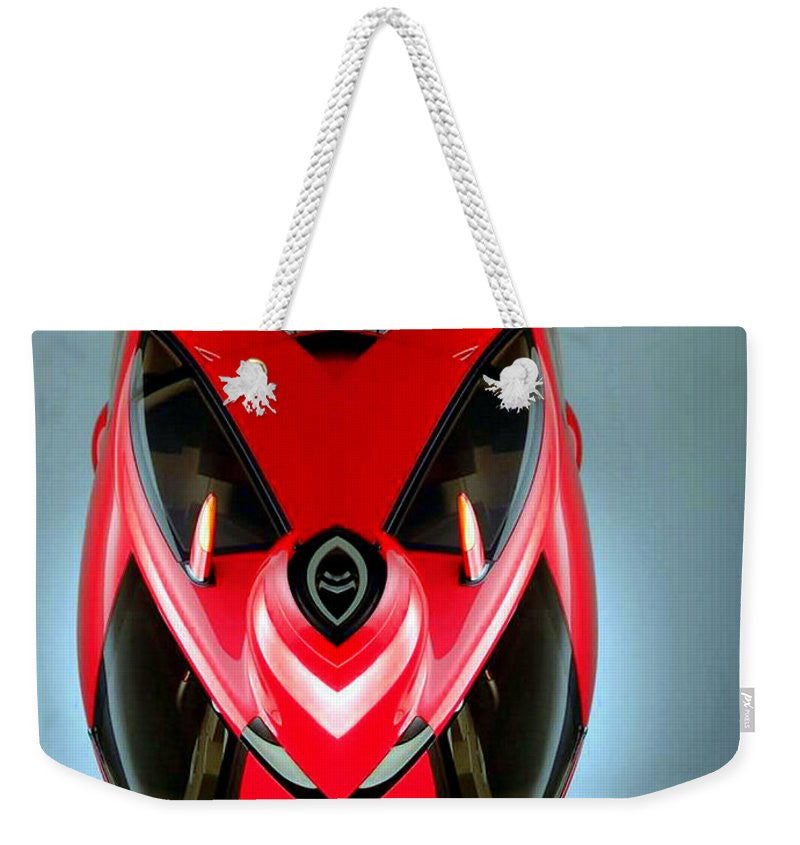 Weekender Tote Bag - Red Car 006
