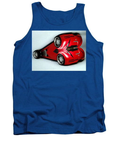 Tank Top - Red Car 007