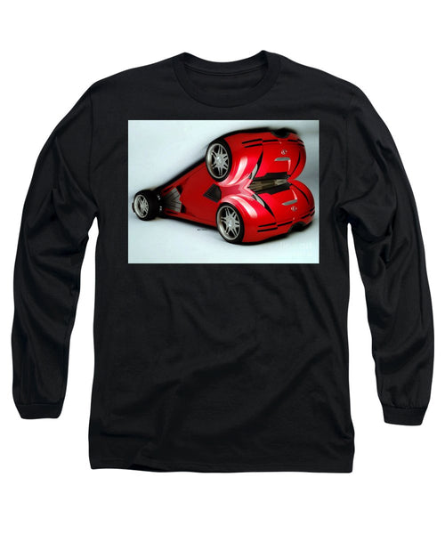 Long Sleeve T-Shirt - Red Car 007