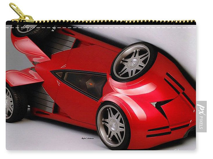 Carry-All Pouch - Red Car 009