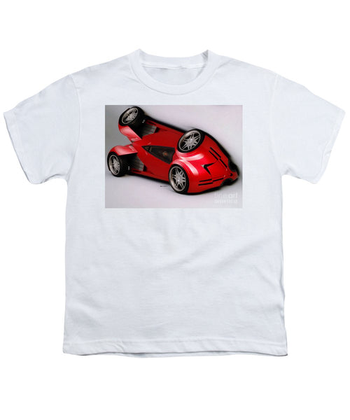 Youth T-Shirt - Red Car 009