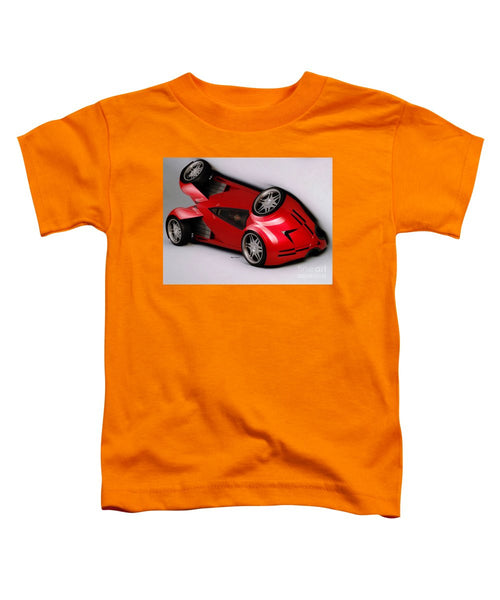 Toddler T-Shirt - Red Car 009