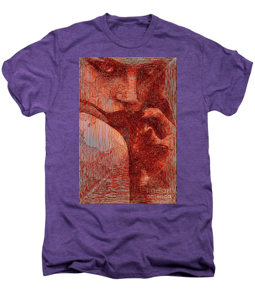 Men's Premium T-Shirt - Red Eyes