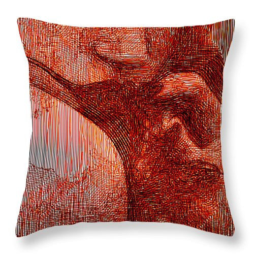 Throw Pillow - Red Eyes