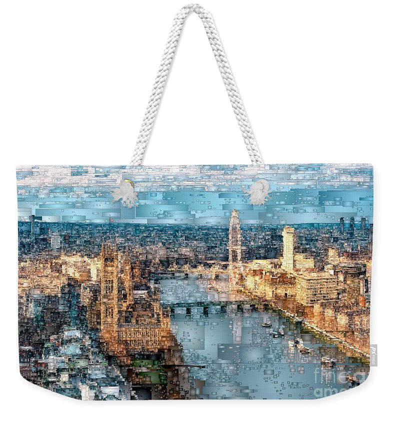 Weekender Tote Bag - River Thames In London, England