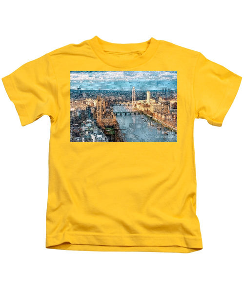 Kids T-Shirt - River Thames In London, England