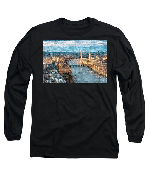 Long Sleeve T-Shirt - River Thames In London, England