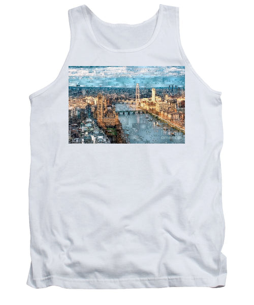 Tank Top - River Thames In London, England