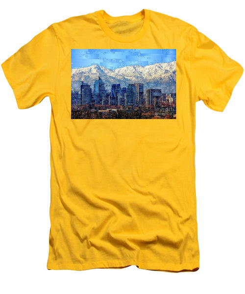 Men's T-Shirt (Slim Fit) - Santiago De Chile, Chile