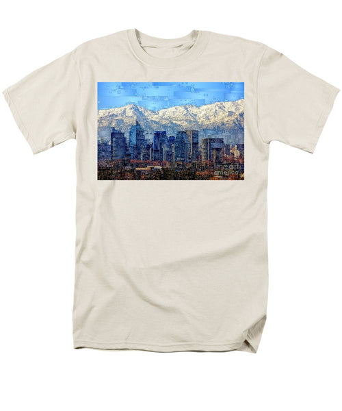 Men's T-Shirt  (Regular Fit) - Santiago De Chile, Chile