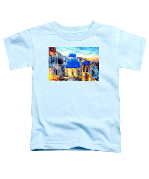 Toddler T-Shirt - Santorini Island, Greece
