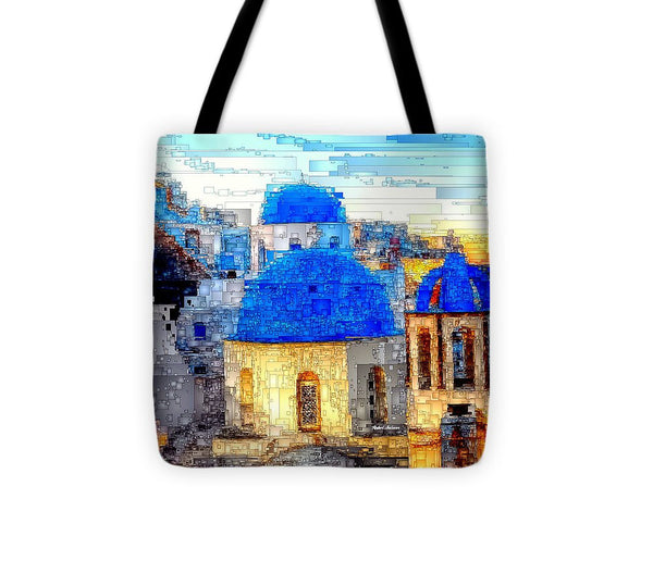 Tote Bag - Santorini Island, Greece