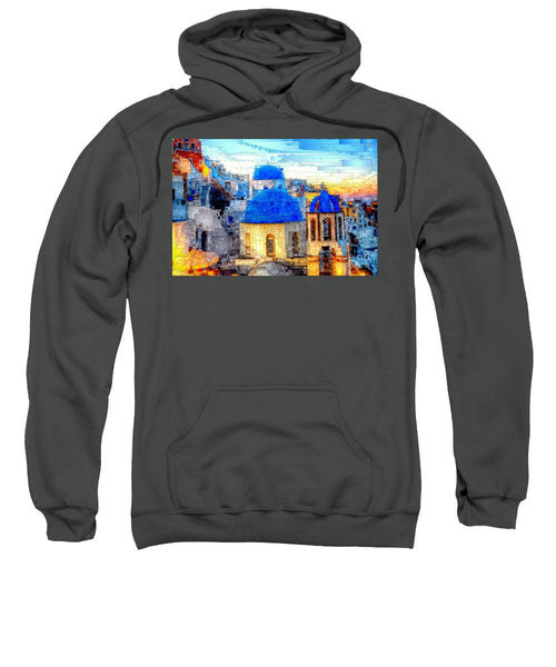 Sweatshirt - Santorini Island, Greece