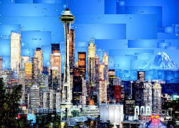 Art Print - Seattle, Washington