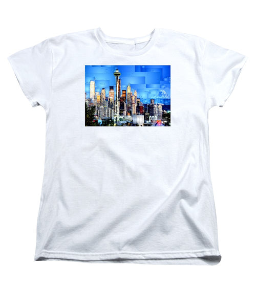 Women's T-Shirt (Standard Cut) - Seattle, Washington