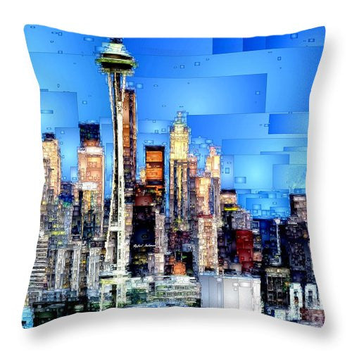 Throw Pillow - Seattle, Washington