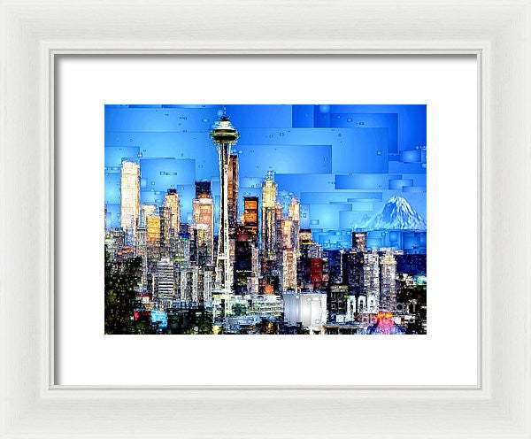 Framed Print - Seattle, Washington