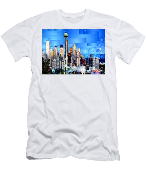 Men's T-Shirt (Slim Fit) - Seattle, Washington